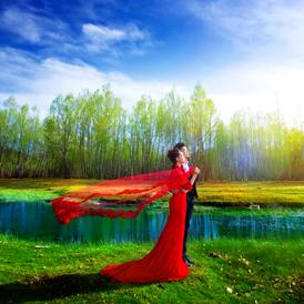 拉萨婚纱摄影