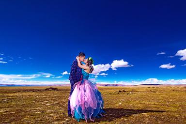 拉萨婚纱照,拉萨婚纱摄影哪家好