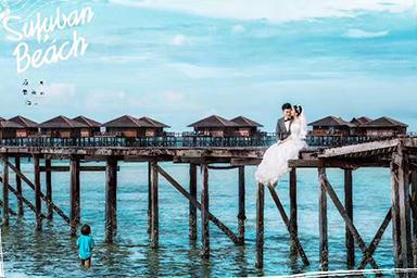 仙本那婚纱摄影,仙本那婚纱照,马来西亚婚纱摄影