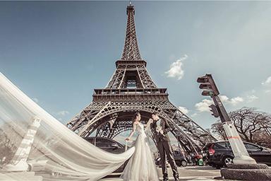 法国婚纱摄影,法国婚纱照,巴黎婚纱摄影