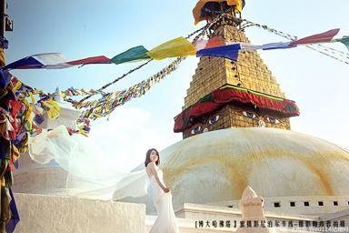 尼泊尔婚纱摄影,尼泊尔婚纱照