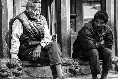 尼泊尔帕旦肖像