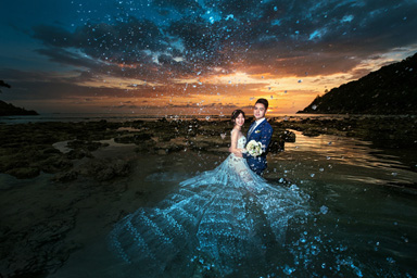 普吉岛婚纱照客片展示