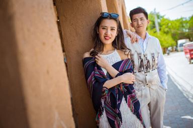 沙漠&木卡姆风情&新疆婚纱照&乌鲁木齐婚纱照