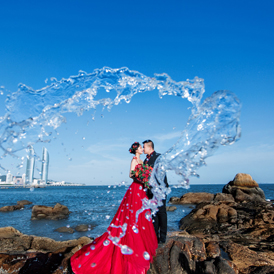 新加坡婚纱摄影,新加坡婚纱照,新加坡旅拍