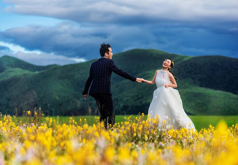 #康定婚纱照  #康定婚纱摄影  #川西婚纱照  #川西婚纱摄影  #川西旅拍